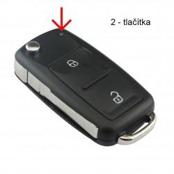 Klíč Volkswagen - VW Golf,...